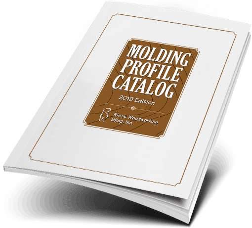 Rino's Woodworking sample catalog.